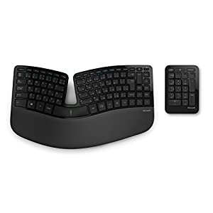 """マイクロソフト キーボード ワイヤレス/人間工学デザイン Sculpt Ergonomic Keyboard for Business USB Por..."""""""
