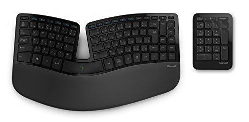 マイクロソフト キーボード ワイヤレス/人間工学デザイン Sculpt Ergonomic Keyboard for Business USB Por...