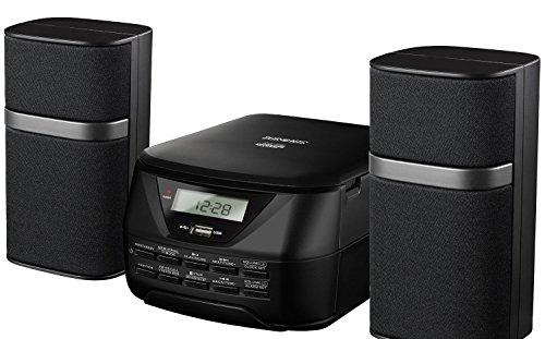 Duronic RCD017 Mikro Hi-Fi Audio System mit CD / Mp3, CD/USB/FM Radio/AUX-In/Verbindung zu MP3-Player, iPhone, iPod, Mobiltelefon möglich