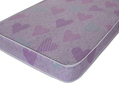 eXtreme Comfort UK ltd 2ft6 Small Single Pink Economy Mattress