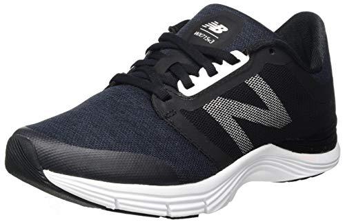 New Balance 715v3, Zapatillas Deportivas para Interior para Mujer, Negro (Black/Pink), 36 EU