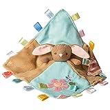Taggies Stuffed Animal Security Blanket, 13 X 13', Harmony Bunny