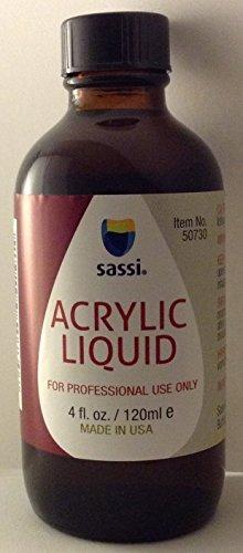 Sassi Acrylic Liquid, 4 Ounces
