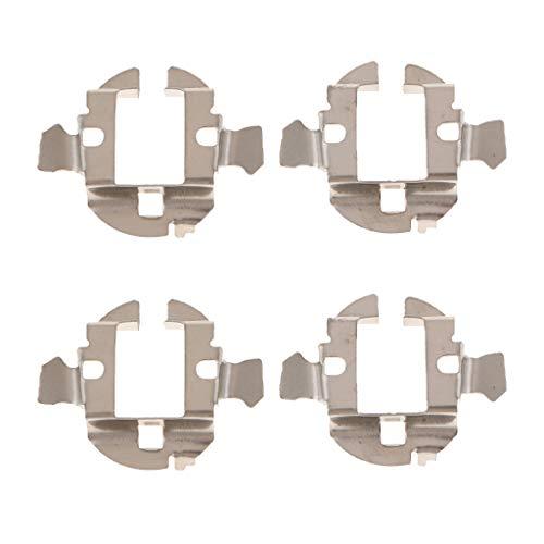 B Blesiya 4pcs Support de Ampoule de Phare de Voiture H7 LED