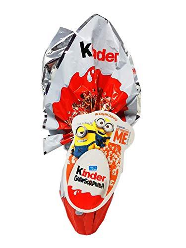 Uovo di cioccolato Kinder Gran Sorpresa Cattivissimo me Minion con fantastica sorpresa 150 gr