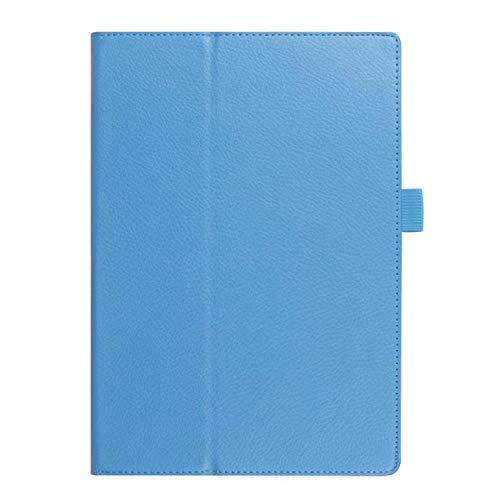 Flip Protective Matte Litchi PU Leather Case For Samsung Galaxy Tab 3 10.1 inch P5200 P5210 P5220 GT-P5200 Tablet case-blue
