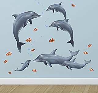 ocean life wall murals