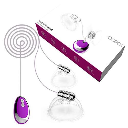 Haijun Vibratoren Für Sie Fernbedienung 20-Gang Vibrationsmodus Nippel Sauger Massage Spielzeug Milchpumpe Leistungsstarker Stimulator Saugnapf Für Frauen
