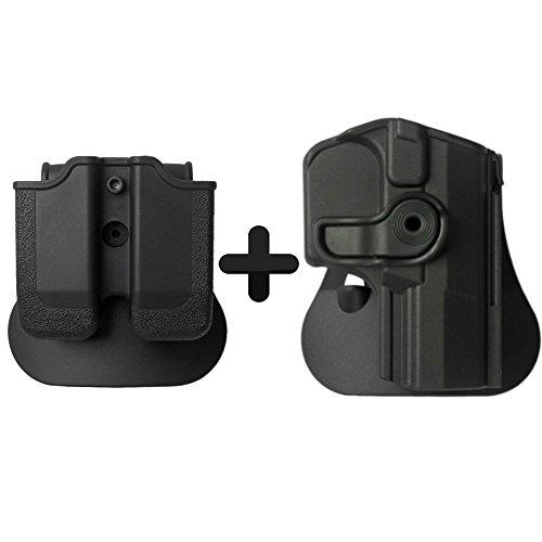IMI Defense Walther PPQ Pistola Pistola Táctica Combo oculta roto Holster + Mag portacargador doble Kit