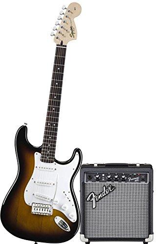 Chitarra Elettrica Fender Squier Stratocaster Bullet Colore Bsb + AMPLIFICATORE FENDER FRONTMAN 10G + CAVO