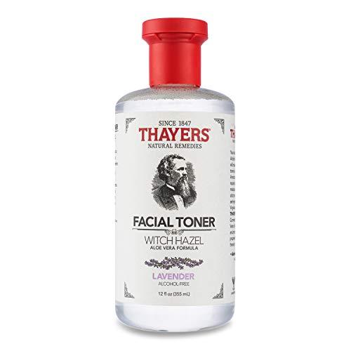 THAYERS Alcohol-Free Lavender Witch Hazel Facial Toner with Aloe Vera Formula - 12 oz, Clear (TA0035)