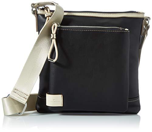 TOM TAILOR Damen Nayla Cross Bag, Black, M