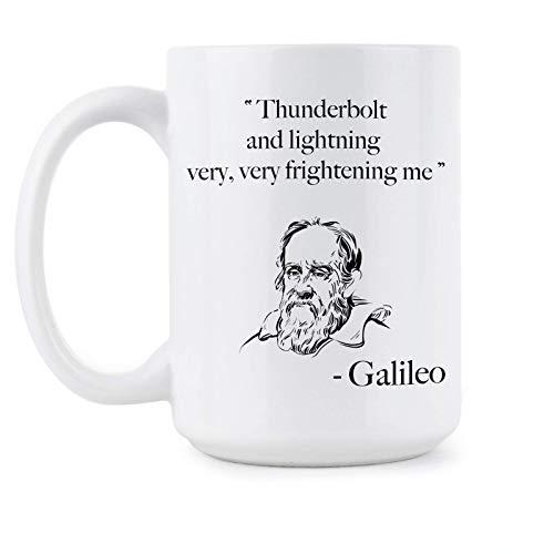 N\A Taza Galileo Galileo Thunderbolt and Lightning Very Very Scary Me