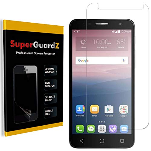 [8-Pack] for Alcatel Onetouch Allura Screen Protector, SuperGuardZ, Ultra Clear, Anti-Scratch, Anti-Bubble [Lifetime Replacement]