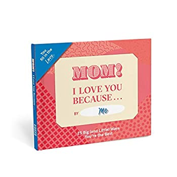 Knock Knock Mom I Love You Because … Fill in the Love Because Book Fill-in-the-Blank Gift Journal 5 x 5.75-Inches