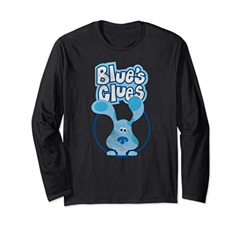 Blues Clues In A Circle Long Sleeve T-Shirt