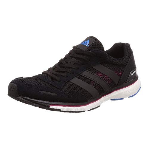 adidas Adizero Adios 3, Scarpe Running Donna, Nero (Cblack/Reamag/Brblue Cblack/Reamag/Brblue), 36 EU