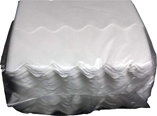 HASEKIN ペーパーナプキン 6折タイプ 紙ナプキン (波形)10000枚箱入(100枚パック入×100P入)