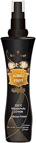 Schwarzkopf Got2b Schutzengel 220°C Hitzeschutz Lotion, 3er Pack (3 x 200 ml)