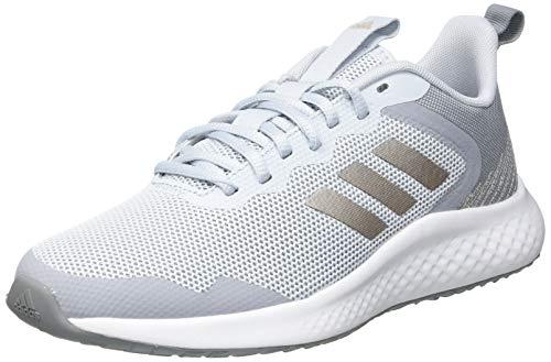 adidas FLUIDSTREET, Zapatillas de Running Mujer, AZUHAL/METCHA/PLAHAL, 38 EU