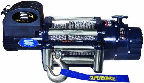 Superwinch 1618200Talon 18, 12VDC Seilwinde, 18.000LB/8,165kg Kapazität mit Roller Klüse