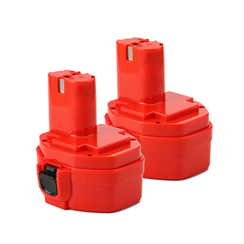 2X Shentec 14.4V 4.5Ah Ni-MH Batería para Makita PA14 1420 1422 1433 1434 1435 1435F 192600-1 193985-8 192699 193157-5 193158-3