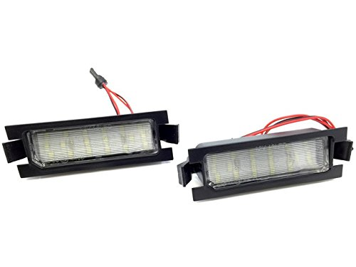 Unipower TMT Leds(TM) Plafones LED Matricula Compatible con Hyundai i30 Kia Cee