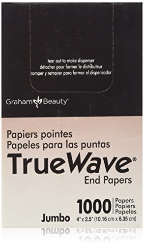 Graham Jumbo End Papers for Hair Perms- 2.5 x 4-1000ct''