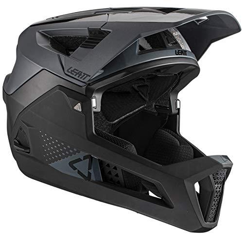 Leatt Casque MTB 4.0 Enduro Casco de Bici, Unisex Adulto, Negro, Large