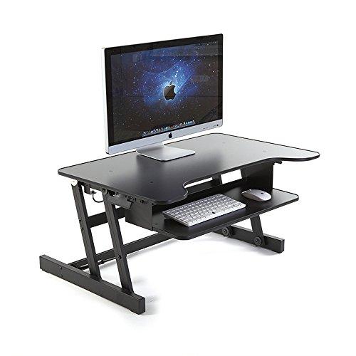 Beyonda FME8AT sollevato pieghevole Moving piedi scrivania da computer Stent per laptop, computer desktop, display, etc.