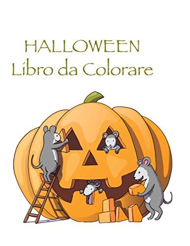 Halloween Libro da Сolorare: Halloween Libro da colorare con Fantasy Creatures per bambini, età 8-12, Con: Mostri Scheletri Magia