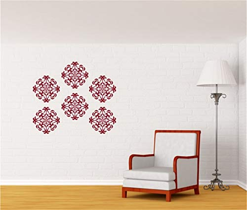 wandaufkleber 3d Medaillon-Wand-Muster für Wohnzimmer Schlafzimmer