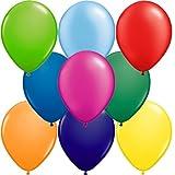 partydiscount24 Riesenballons Bunt gemischt Ø 40 cm 10 Stück