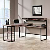 Transit L-Shaped Modern Computer Desk - 61'W x 59'D