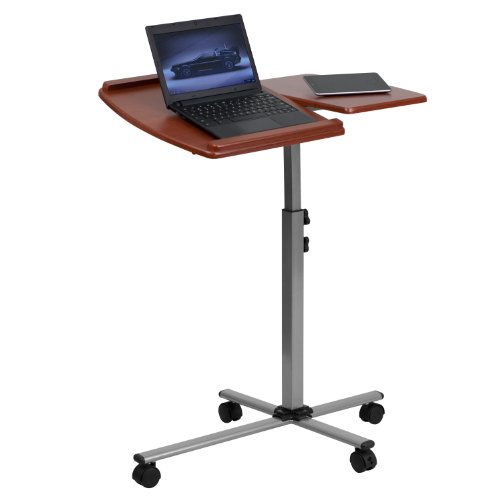 Take 36% off a height adjustable mobile laptop table
