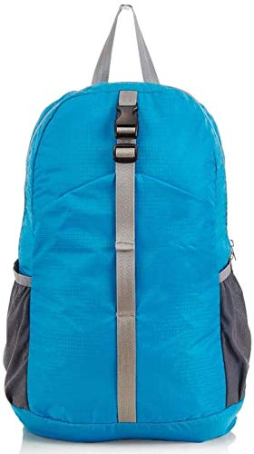 tgbnh Backpack,Hiking Backpack Hiking Daypack Backpack Unisex Camping Mountaineering Walking  Travel Large Capacity Backpack 30L Blue 30L Upgrade Version (Color : Default)