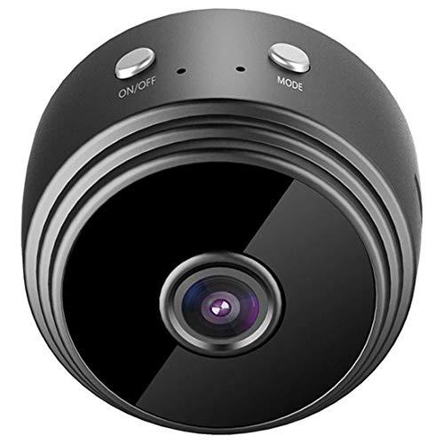 MTP-Products Mini cámara con visión nocturna y detección de movimiento A9 - Negro