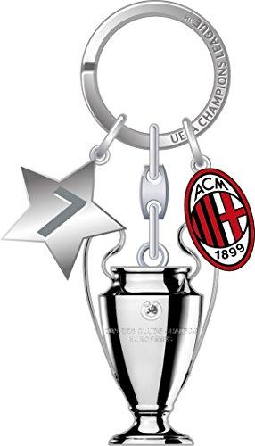 AC Milan UEFA Champions League Pokal Sleutelhanger met logo & ster hanger