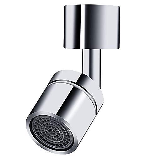 Aireador de grifo de fregadero, aireador de grifo de fregadero giratorio de 720 °, cocina, baño, lavabo, boca de agua, flores, herramientas para evitar salpicaduras, 22 mm