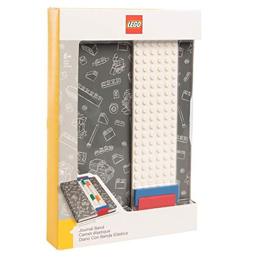 LEGO DesignLE51524 West Design Junior Selection Journal with Binder Sleeve, Grey, Multi-Color