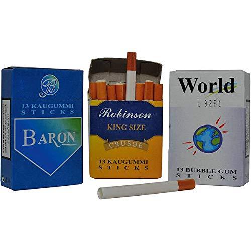 DOK Kaugummi Sticks mit Rauch, 6er Pack 6 x 44 g