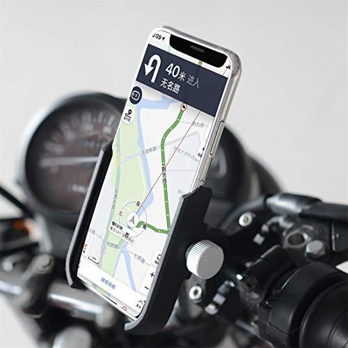 GUPENG Soporte para teléfono motorblke Impermeable De Aluminio de aleación de fundición a presión de la Motocicleta Soporte for teléfono móvil Soporte de Manillar versión, for la Motocicleta etc.