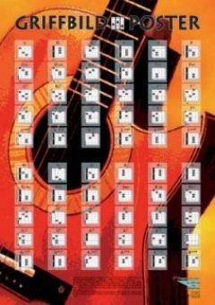 GRIFFBILD POSTER - arrangiert für Poster - Gitarre [Noten / Sheetmusic]