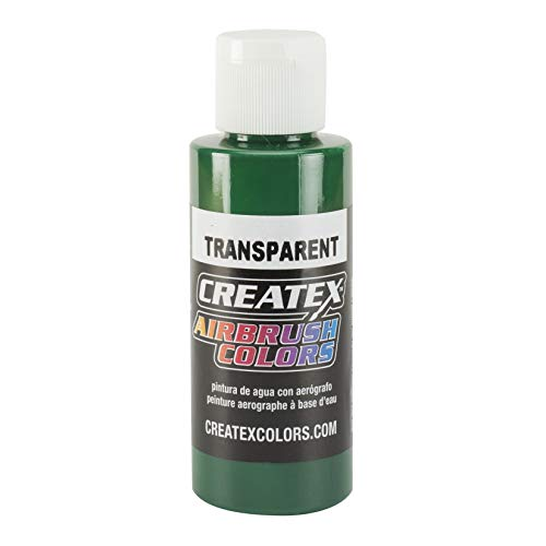 Createx 5109-4Z Createx Brite Green Transparent Airbrush Color CREATEX TRANSPARENT 4 OZ. by Createx