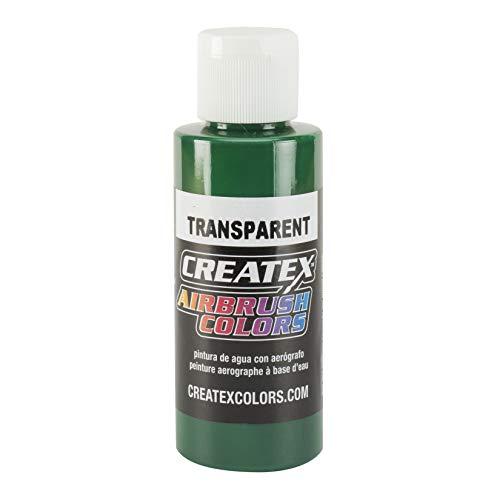 Createx 5109-4Z Createx Brite Green Transparent Airbrush Color CREATEX TRANSPARENT 4 OZ. by Createx