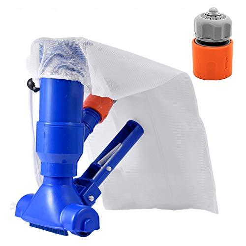 Nogan Portable Pool Vacuum Jet Underwater Cleaner, Vacuum Head Universal Convenient Pool Cleaner Brush Attachment for Spa Pond Best Service
