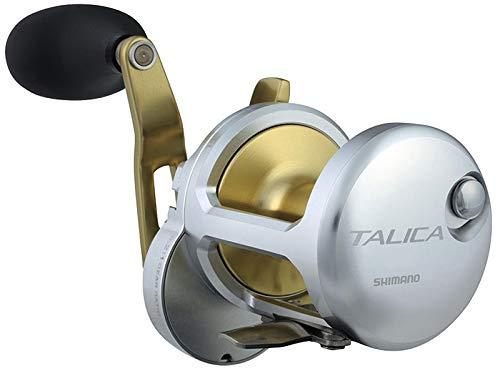 Japan-Shimano Moulinet Baitcasting Reel Talica II 20lb 2-Speed - 920g - R.5.2:1-3.1:1 - RETR.104-56cm - BK.20Kg - TAC20IICAM