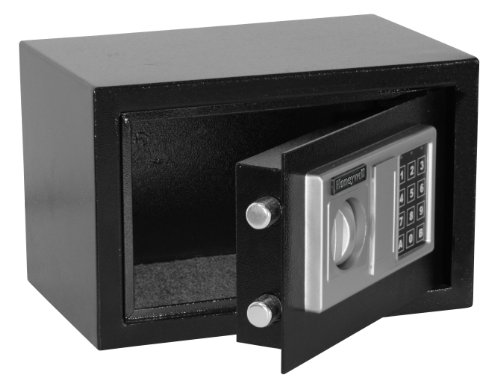 Honeywell Safes & Door Locks 5301DOJ Steel Security Safe with Digital Lock.28 Cubic ft, Black