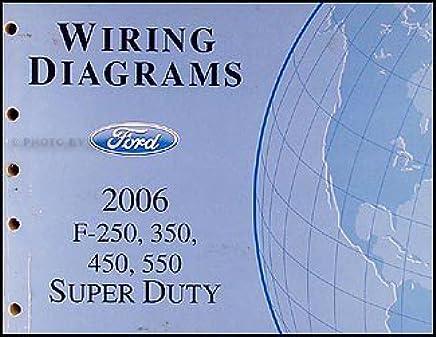 2006 ford f 250 thru 550 super duty wiring diagram manual 1999 Ford F-250 Wiring Diagram