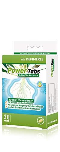 Dennerle PowerTabs Düngetabletten, Spezial Dünger für Aquarienpflanzen - für üppigen, kraftvollen Pflanzenwuchs (30 Stück)